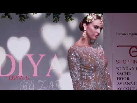 DIYA'S  - EXCLUSIVE BEST BRIDAL OUTFITS @ ASIAN WEDDING SHOW 2017