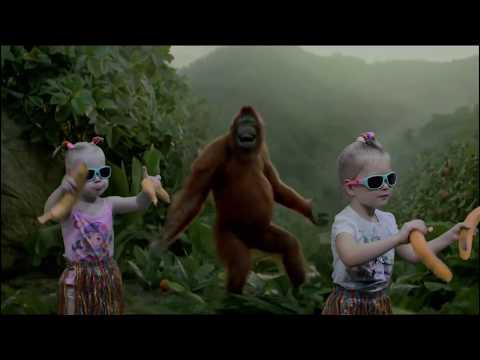 Monkey Bananas | Monkey Banana Dance | Dance Along | Animal Song for Children | Nursery Rhymes Songs
