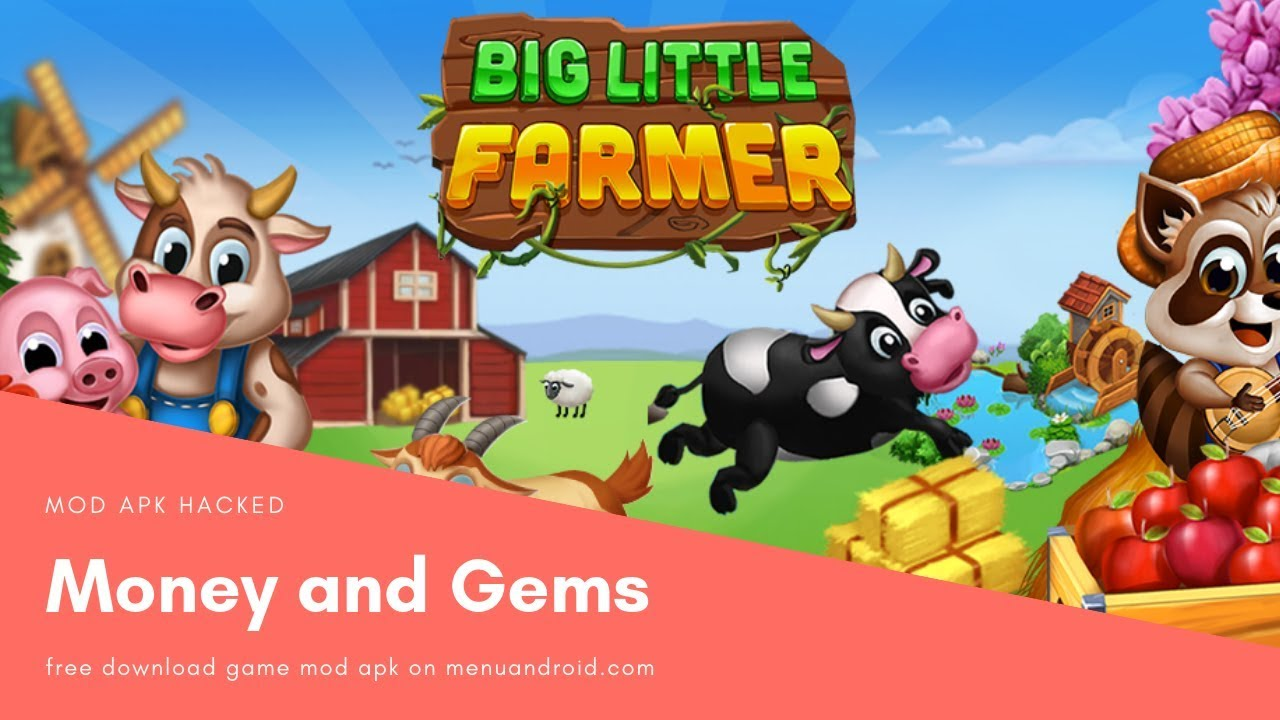 big little farmer mod apk 2018