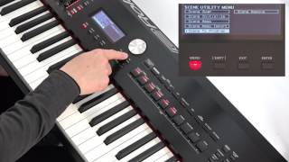 """Using Scenes (2)"" Roland RD-2000 #11"