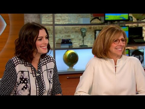 "Anne Hathaway, Director Nancy Meyers On New Movie ""The Intern"""