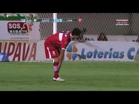 Melhores Momentos HD Goiás 3 X 0 CRB Brasileirão Série B 25 10 2016