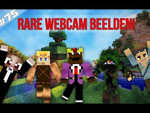 Minecraft Survival #75 - RARE WEBCAM BEELDEN!