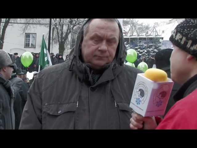 Lilleküla Televisioon - Meeleavaldus kõrge elektrihinna ja ebaõigluse vastu riigis