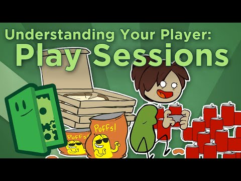 Understanding Your Player: Play Sessions - How Will People Play Your Game? - Extra Credits
