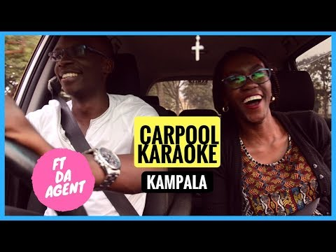 Carpool Karaoke Kampala ft Da Agent!!