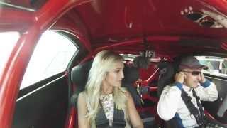 Известной телеведущей Ольге Бузовой бросил вызов чемпион России по кольцевым автогонкам.
