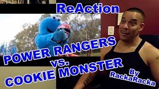 Rackaracka Power Rangers Vs Cookie Monster Reaction