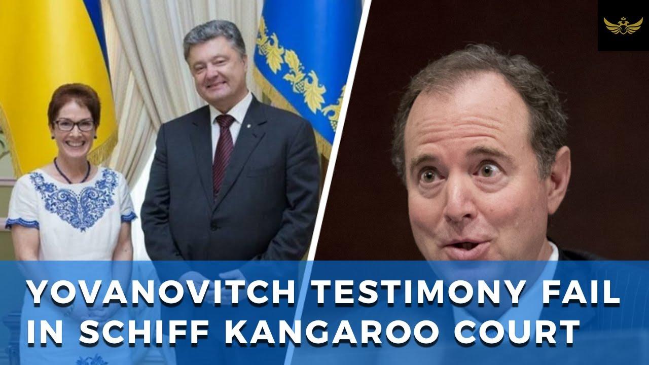 Clueless Ukraine Ambassador Yovanovitch delivers testimony dud in Schiff's kangaroo court