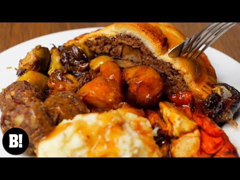 THE BIG BOSH VEGAN CHRISTMAS DINNER | BOSH! | VEGAN