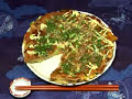 How to Make Okonomiyaki (Japanese Savory Pancake Recipe) | Cooking with Dog