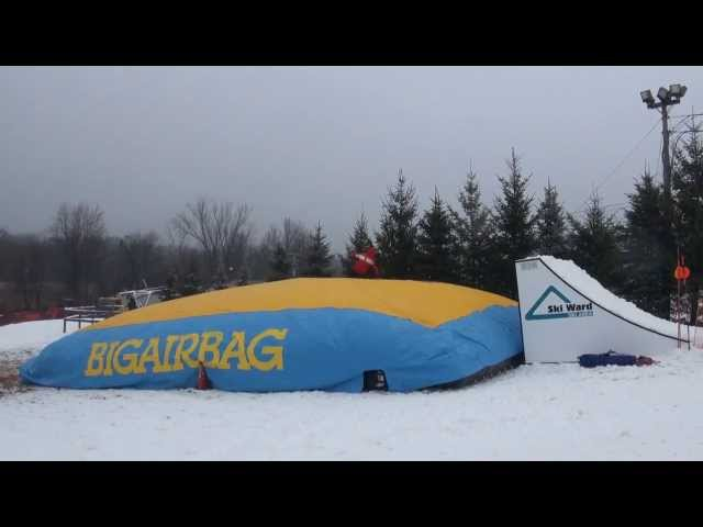 BigAirBag Open for the Season at Ski Ward: Dec. 1, 2013