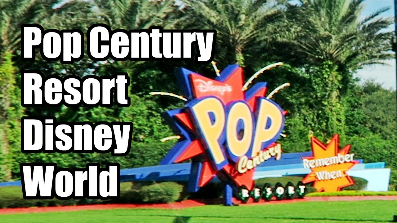 disney world pop century resort review youtube