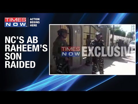 Jammu & Kashmir: NC Leader AB Raheem's Son Hilal Ahmed's Residence Raided By I.T