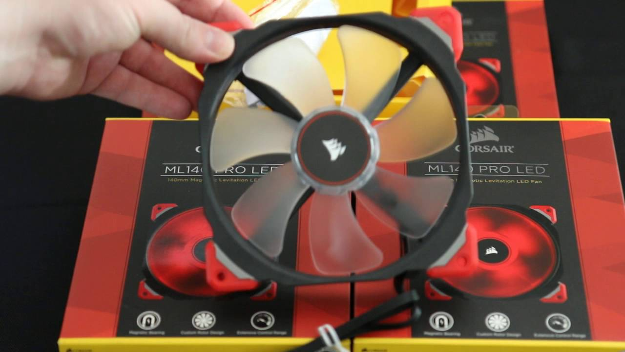 Corsair Ml Series Pro Led Fans Overview 140mm 120mm