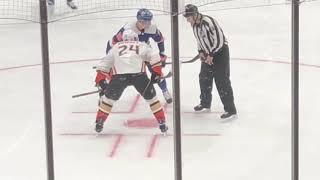 Ducks at Islanders 1/20/19 Cal Clutterbuck Power Play Goal (1st Goal)