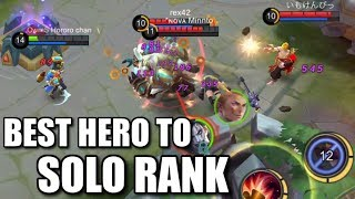 HARLEY IS THE BEST FOR SOLO RANK