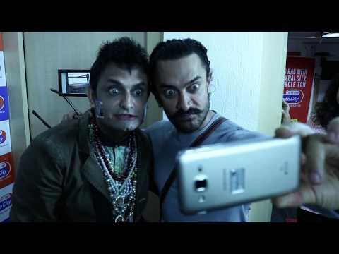 Aamir Khan & Debashish Ghosh At Radio City