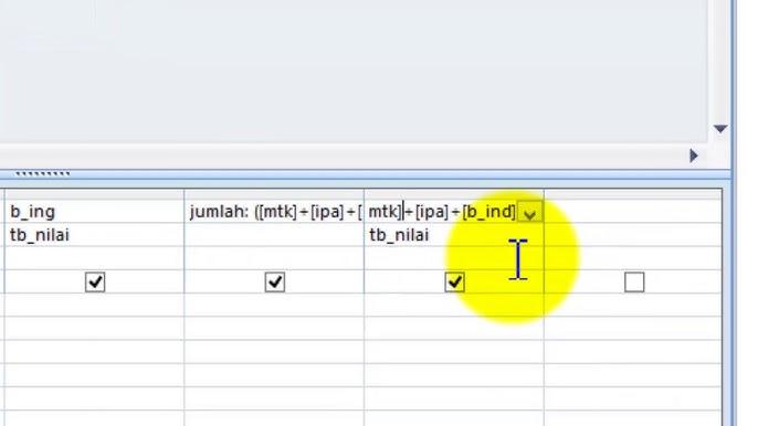 Cara Membuat Database Dengan Microsoft Access Youtube