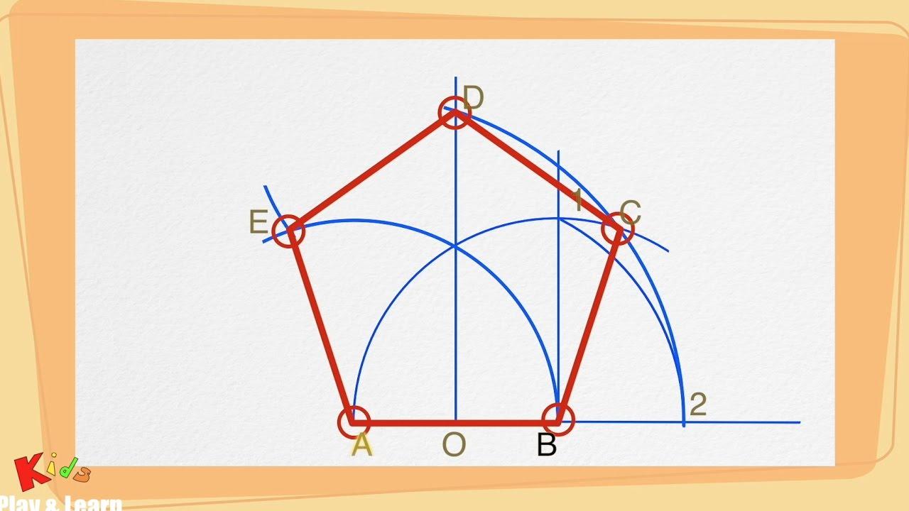 Come Disegnare Un Pentagono Con Il Compasso Passo Dopo Passo