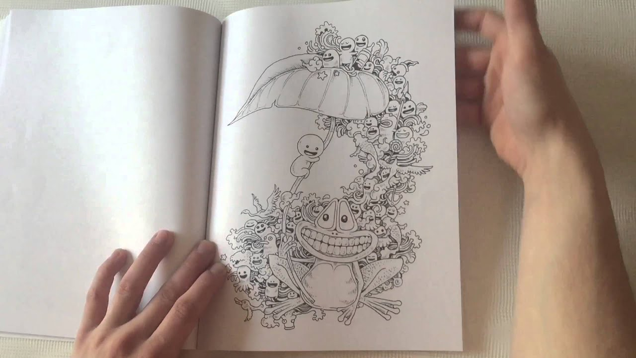 Doodle Invasion By Kerby Rosanes Flip Through