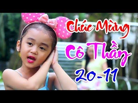Nhạc Thiếu Nhi Chào Mừng Ngày Nhà Giáo Việt Nam 20 - 11 🐠 Món Quà Tặng Cô 🏀 Bé Tú Anh