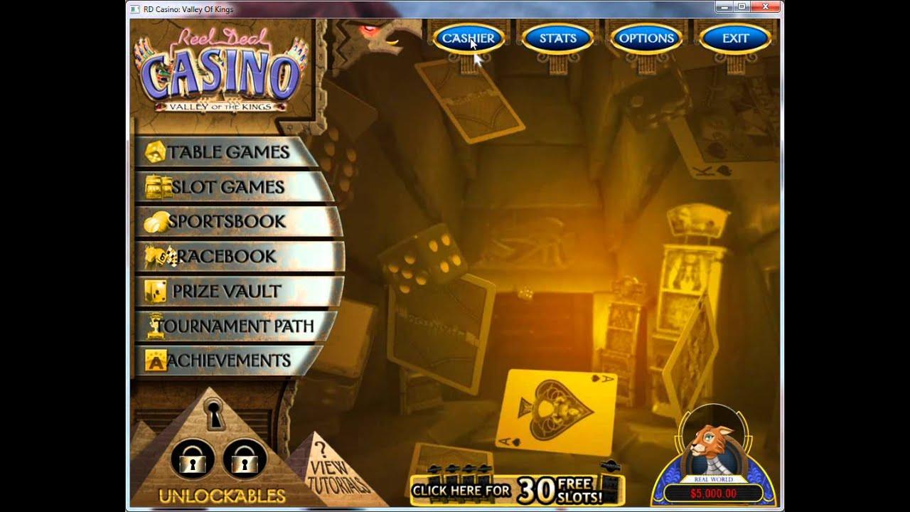 Reel deal casino valley of the kings free download casino tillamok washington