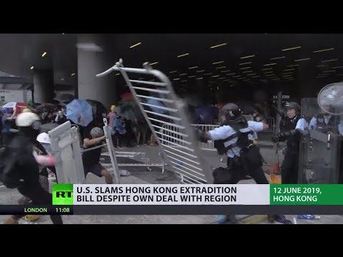 Hong Kong suspends China extradition bill following mass protests