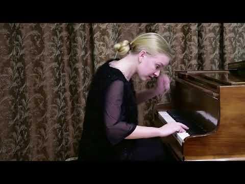 01.05.2020 Sofya Menshikova In Concert Of Students Of Mira Marchenko's Class During Quarantine