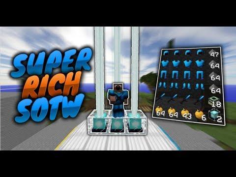 SUPER RICH SOTW! (INSANE DONATIONS) // MASSIVE FALL TRAP! - VELT [1] (Minecraft Factions)