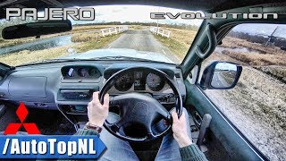Mitsubishi Pajero Evolution 3.5 V6 POV Test Drive by AutoTopNL
