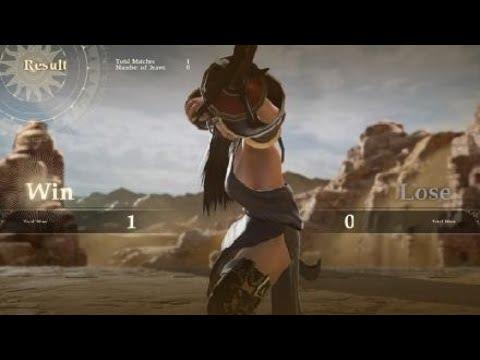 [FFXIV] Kiyona fights her Warrior of Darkness clone in Thanalan Desert