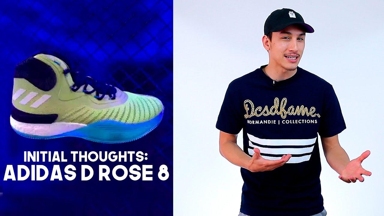 adidas d rose 8. adidas d rose 8 leak! thoughts \u0026 impressions