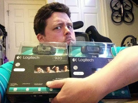 Logitech C920 HD Pro 1080p Webcam Hands on Review - Compare Lifecam Studio HD