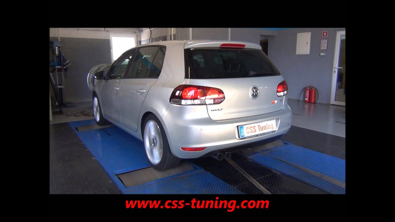 css performance vw golf 6 1 4 tsi 160 hp cai youtube. Black Bedroom Furniture Sets. Home Design Ideas