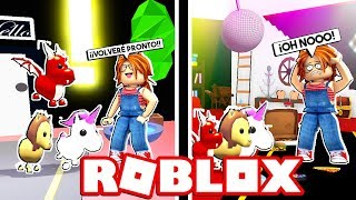 NEVER LEAVE YOUR LEGENDARY PETS in ROBLOX (Adopt me) 😱