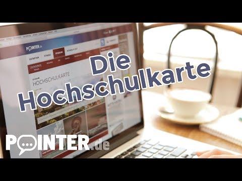 Die Hochschulkarte auf Pointer.de