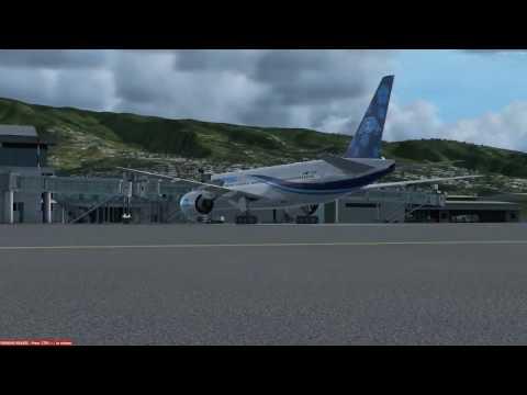 Flight from St Denis de la Réunion to Mayotte Boeing 777 200 AIR AUSTRAL