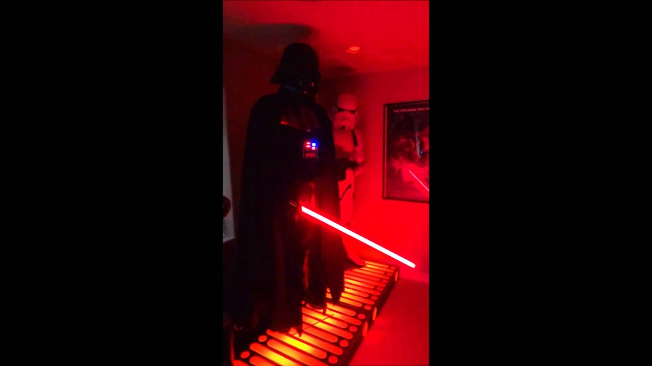 darth vader display custom sound electronics w. Black Bedroom Furniture Sets. Home Design Ideas