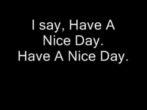 BON JOVI - Have A Nice Day with lyrics