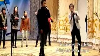 Асанов Адлет [Mc Avior] & Т.Мадияр [Mc Madik] & Abylai-Mansur в Бурном