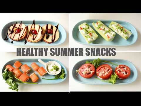 Healthy Summer Bites | No Cook | 10 Minute Snack