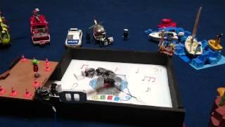 Robobuilder video miniaturisation Danse avec les robots