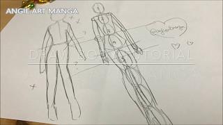 Drawing Tutorial for Manga Body Ep3