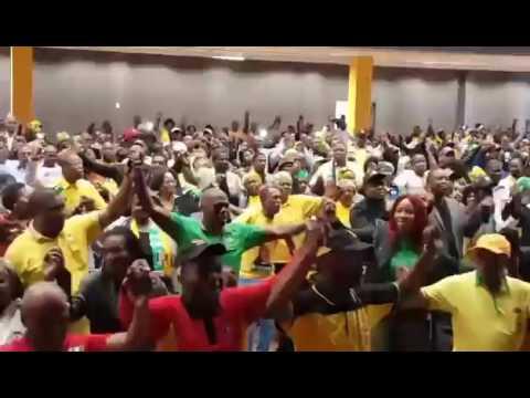 ANC singing Oliver Tambo