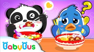 Whiskers Feeds Rudolph   Eat by Myself   Kids Good Habits   Kids Song & Animation    BabyBus