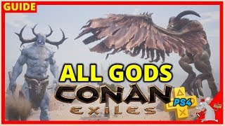 conan exiles ps4 tips - how to summon the avatars learn religions y...