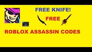 October 2019 Roblox Assassin Codes (WORKING!!)