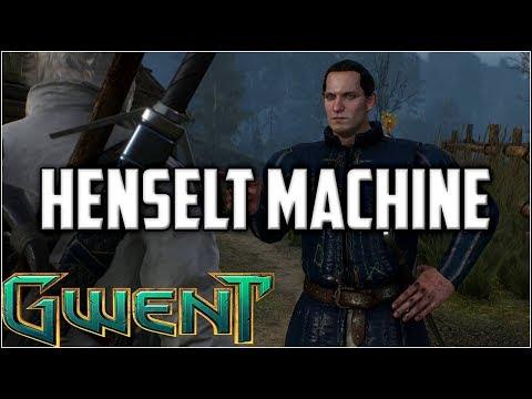 Gwent Henselt Machine ~ Elfs ~ Gwent Deck Gameplay