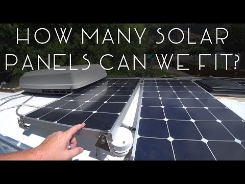 How Many Solar Panels Can We Fit On The Airstream? - TMWE S3 E123